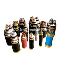 0.6/1KV Copper / Aluminum Core XLPE Insulated PVC Sheathed Armoured Power Cable