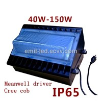 100w LED wall pack Meanwell driver cree