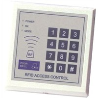 125k standalone access control with keypad  +Two super card for add or dele cards,sn:701