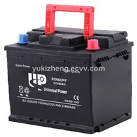 12V40AH 32C24L MF automotive battery N40MF