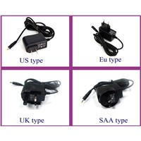 12v 1amp/2amp/3amp/4amp wall plug power adapter