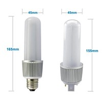13w pl g24 base led lamp, plc 4 pin led g24 lights, g24 led bulb with isolated power supply