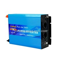 1500W DC to AC Pure Sine Wave Power Inverter