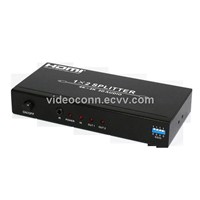 1X2 4Kx2K HDMI Splitter with Audio Extractor
