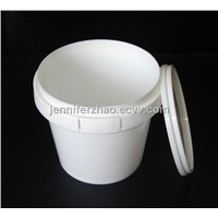 1.2 L Plastic Bucket,Candy,Cookies Tub,Food Packaging Tin ,IML  is Accepted