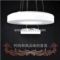 2014 latest hot products listed , LED light, simple and stylish ,double round pendant lamp