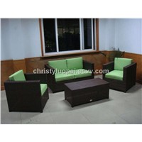 2014 new design outdoor rattan sofa set