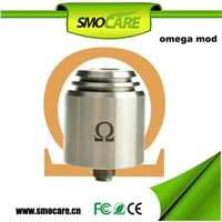 2014 new omega mechanical mod nemesis mod omega atomizer for 18350/18490/18650 battery