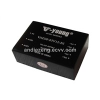 20W-25W isolated AC/DC power supplies,5V,12V, 15V,24V output