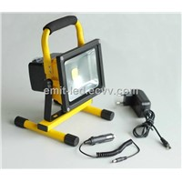 20W led flood light portable with battery