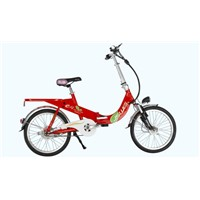 "20"" folding lithium electric bike"