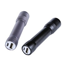 2200mAh USB Portable Charger and Flashlight
