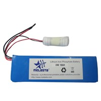 24V 10ah LiFePO4 Battery Pack for E-Bicycle, E-Scooter