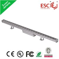 24W led wall washer light  with BV CE RoHS approval 2 years warranty