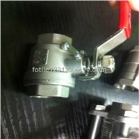 2pc stainless steel ball valve