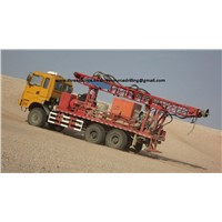 3D seismic truck mounted drilling rig