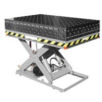 3D Welding Table with Hydraulic Scissor Lifter