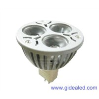 3W MR16 LED Lamp 3*1W led spotlight