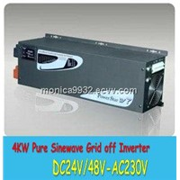 4000W/4KW DC/AC Power Inverter with charger