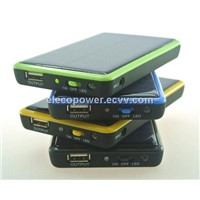 5000mA portable cellphone nokia apple iphone samsung ipad black berry solar power charger