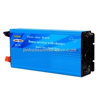 500W Pure Sine Wave Power Inverter with Charger and Auto Transfer Switch