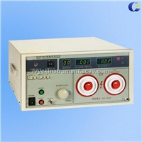 5KV AC/DC Withstanding Voltage Tester with 20mA leakage current and 500VA transformer capacity