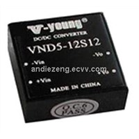 5W dc-dc power supplies, 5V,12V,15V,24V output,500Vdc isolation