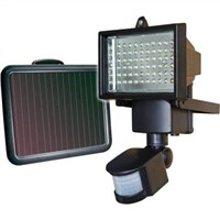 60 LED Solar Powered Motion Activated Flood Light Outdoor Security Spot