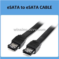 6-Feet Shielded External eSATA Cable Male to Male