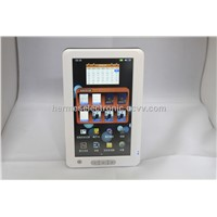 "7"" High 1080p Digital Touch Screen 4GB Ebook Reader+leather cover"
