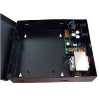 Access control Power case Supply ,12V5A(Input 220V/110V) ,with battery interface, sn:se-06A,