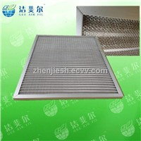 Aluminum/stainless steel Metal mesh pre panel air filter