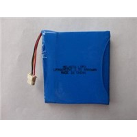 Anti-High-Temperature Li-Polymer Battery Packs for Solar GPS