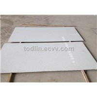 Artificial stone Pure white quartz slab