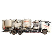 Batch Mixer cemeting unit truck skid or trailer