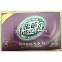 Clean & Soft laundry detergent sheet (Romantic perfume fragrance)