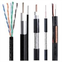 RG6 Coaxial Cable with Messenger