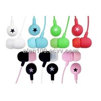 Colorful star earphone (OM-2232) / MP3 earphone