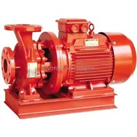 Compact Structure Centrifugal Fire Pump , Small Volume Electric Fire Pump 220V