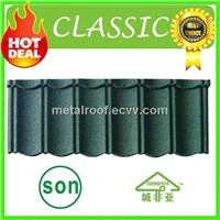 Corrosion Resistent stone coated roof tile