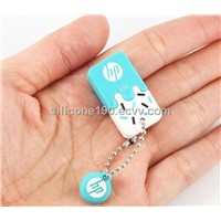 Customized Design And Logo Pringting  silicone Usb Shell