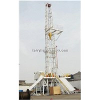 DC Electric Drive Drilling Rig