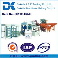DK10-15A clay brick making machine for sale