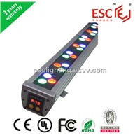 DMX512 RGB 24W/48W/72W LED Wall washer For outdoor decoration