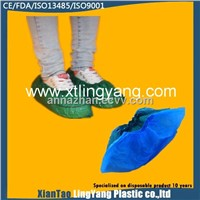 Disposable CPE PE shoecover