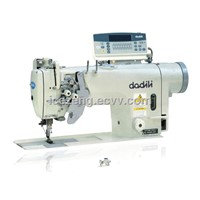 Double needle direct driven automatic thread trimmer sewing machine DL-8752H