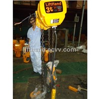 Dual speeds electric chain hoist