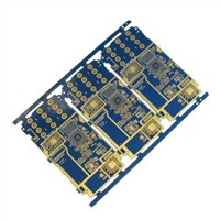 ENIG 6-layer PCB, Printed Circuit Board, Used for Mobile Phones