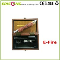E-Fire electronic cigarette new arrival variable voltage E-Fire/X-Fire Battery Wood Tube Battery