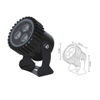 Epistar 3W LED RGB spotlight outdoor IP65 LED flood light 3W spotlight